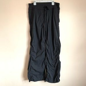 Lululemon size 10 Gray Charcoal Studio Pants